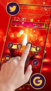 Happy Diwali Mobile Theme poster