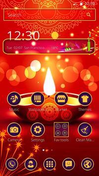 Happy Diwali Mobile Theme apk screenshot