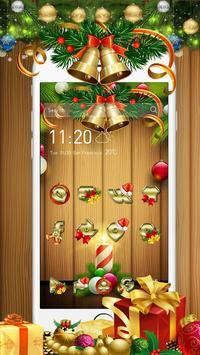 Christmas Golden Bell Theme poster