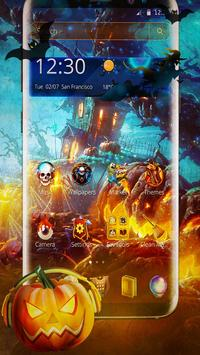 Halloween Mobile Theme poster