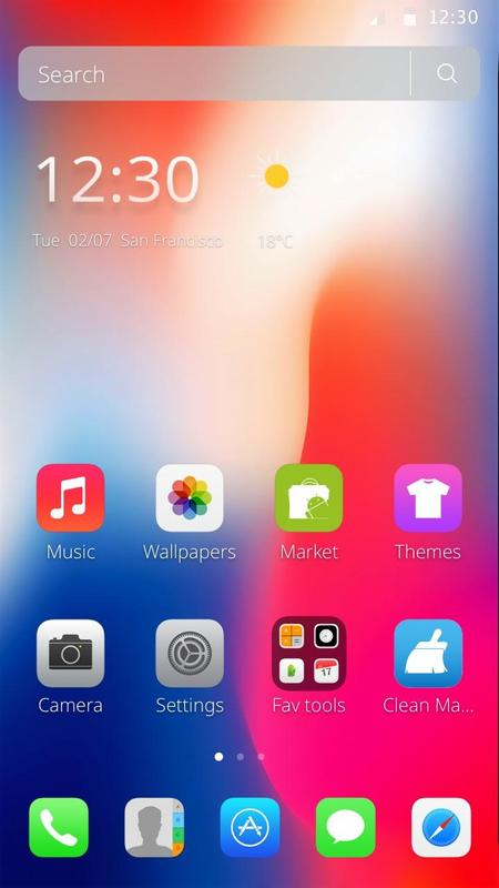 iphone x themes download