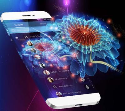 Neon Glitter Flower Jellyfish Theme APK [1 1 4] - Download APK