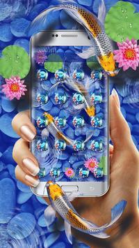 Koi Fish Launcher Theme screenshot 1