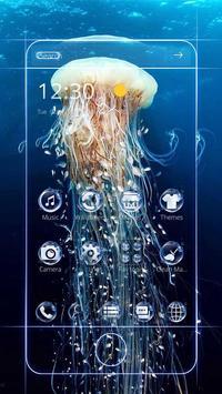 Jellyfish theme Aquarium theme poster