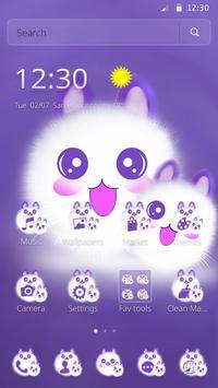 Cute Fluffy Kitten Kawaii Cat Theme screenshot 3