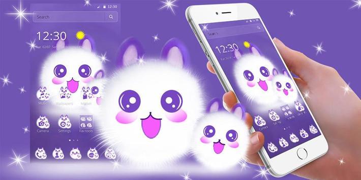 Cute Fluffy Kitten Kawaii Cat Theme screenshot 6