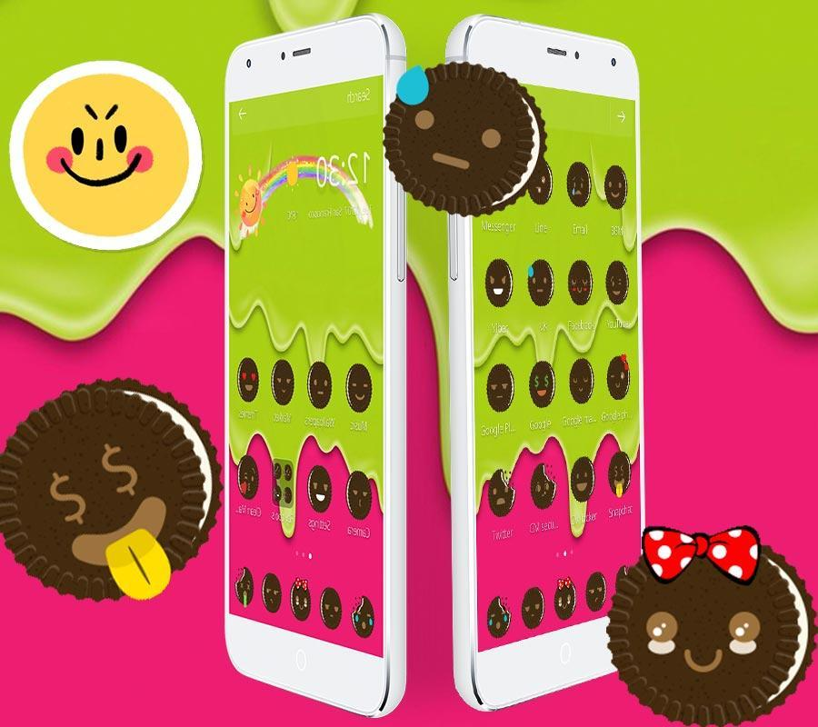 Smiley Oreo Emoji for Android - APK Download