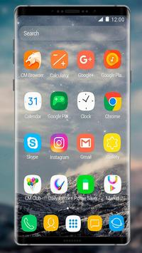 Theme for Samsung Galaxy Note 8 apk screenshot