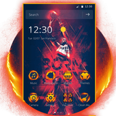 Cool Basketball NBA theme keyboard icon