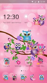 Rosa Night Owl Theme poster