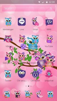 Rosa Night Owl Theme screenshot 1