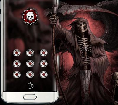 black red skull theme screenshot 4