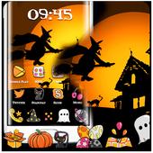 Happy Halloween Witch Night Theme icon
