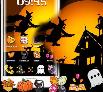 Happy Halloween Witch Night Theme poster