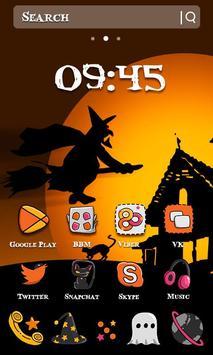Happy Halloween Witch Night Theme apk screenshot