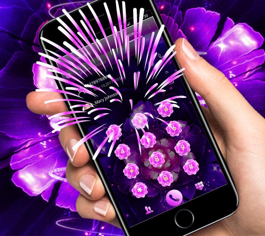 Wallpaper Bunga Ungu Yang Keren Layar Kunci For Android Apk Download