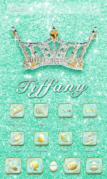 Tiffany Crown Theme apk screenshot