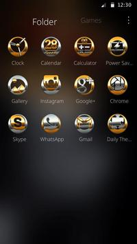 Gold Skull King Theme screenshot 2