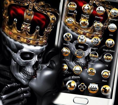 Gold Skull King Theme screenshot 3