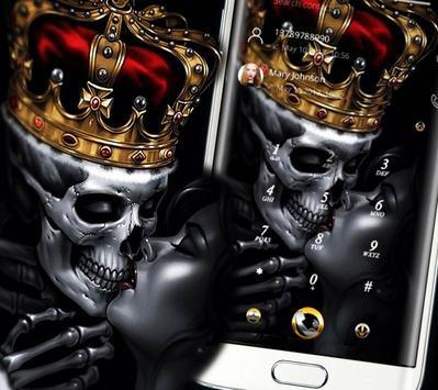 Gold Skull King Theme screenshot 5
