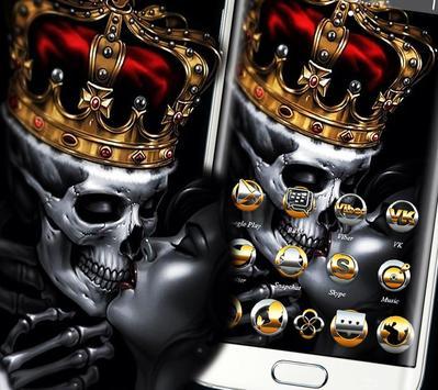 Gold Skull King Theme screenshot 6