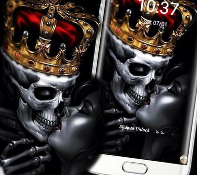 Gold Skull King Theme screenshot 7