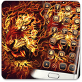 Red Fire Lion Theme
