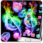 Fire Music Colorful Theme icon