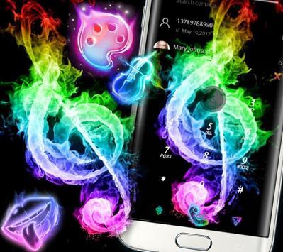 Fire Music Colorful Theme screenshot 2