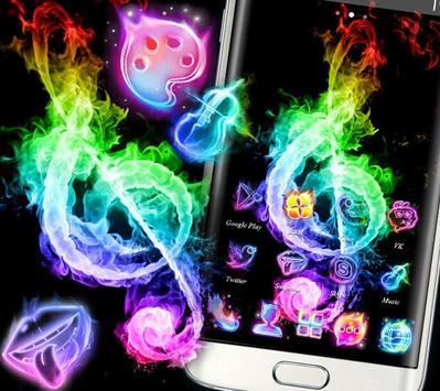 Fire Music Colorful Theme screenshot 3
