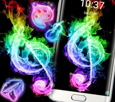 Fire Music Colorful Theme screenshot 4