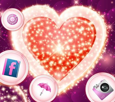 Shining love theme poster