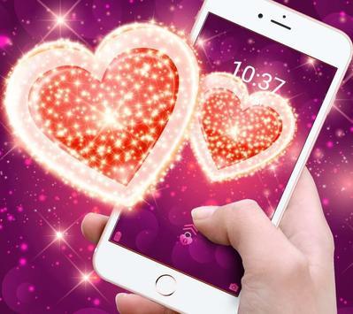 Shining love theme apk screenshot