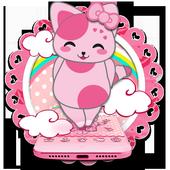 Rosa Pink Kitten Theme icon