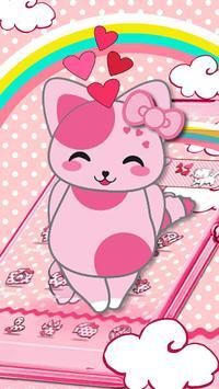 Rosa Pink Kitten Theme poster
