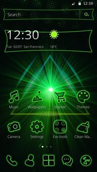 Storming Green Light Theme poster