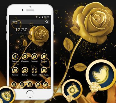 Golden Rose Theme poster
