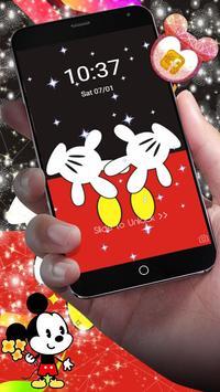 Cute Red Minny Bow Theme screenshot 1