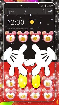 Cute Red Minny Bow Theme screenshot 2