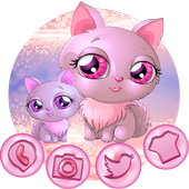 Pink Cat Theme icon