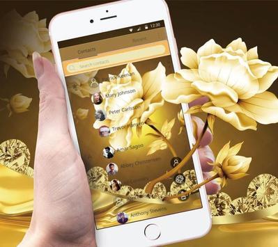 Refined GoldenLotus Flower Theme screenshot 3