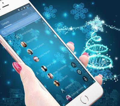 Blue Twinkle Christmas Theme screenshot 4