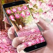 Pink Flowers Blossom Theme icon