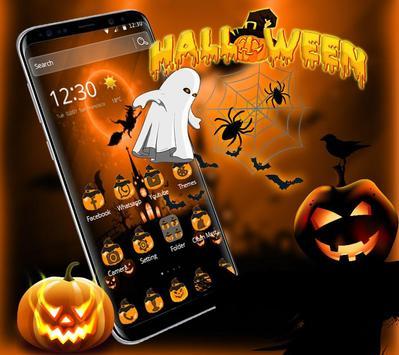 Halloween Pumpkin Party Theme poster