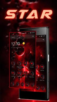 Red hell universe theme icon Red Technology apk screenshot
