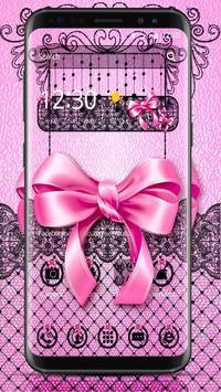Pink Bow Theme poster
