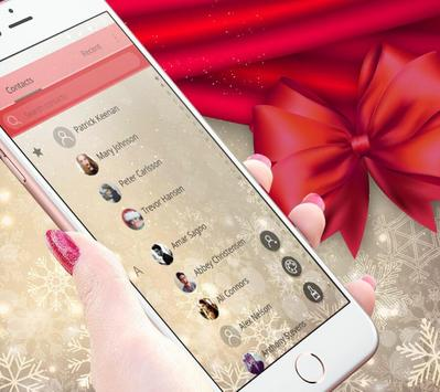 Sweet Pink Christmas Theme تصوير الشاشة 4