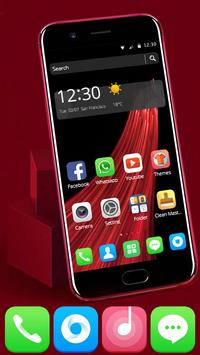 Launcher Theme For POPPO RED 11 screenshot 1