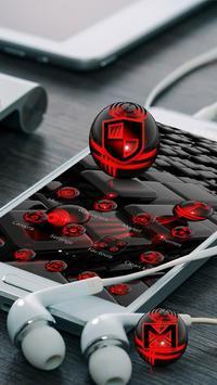 Red Technology Red Technology theme apk screenshot