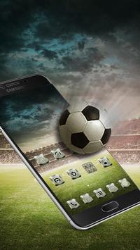 Football theme apk screenshot